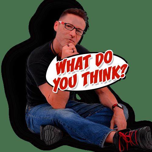 Lars thinking.